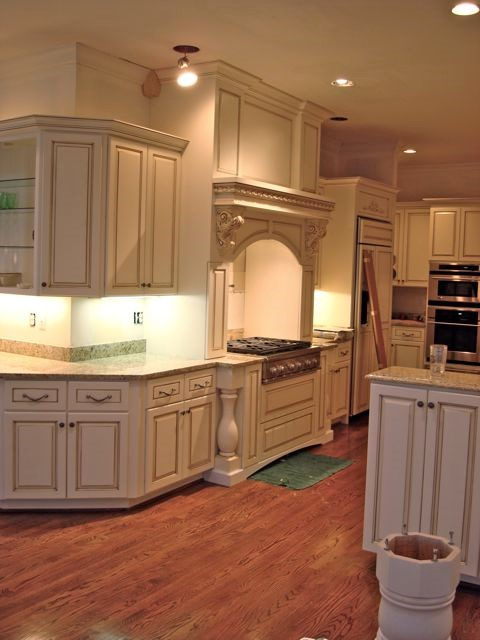Want To Brighten A Kitchen Up Planning To Paint Or Finish Built In Cabinets Home Libraries Or Kitchen Cabinets